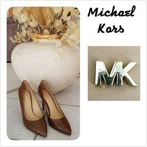 Michael Kors Leather Heels New